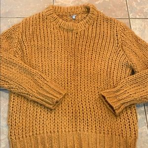 Oversized cable knit warm sweater Charlotte Russe